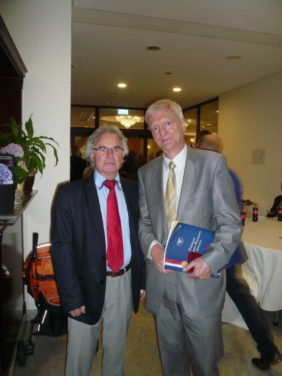 Z prof. Michałem Kleiberem  byłym prezesem PAN
