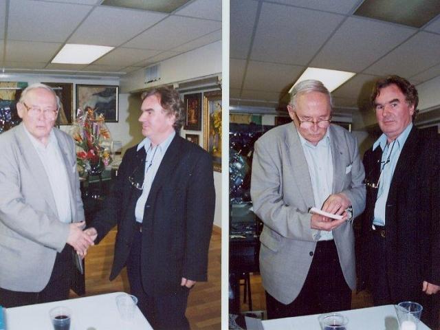 Z Józefem Szajna -wybitny reżyser teatralny,scenograf i malarz