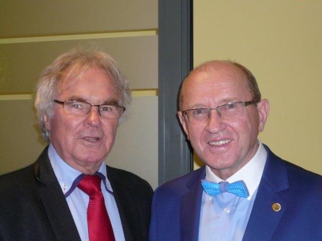 Z prof. Henrykiem Skarżyńskim Dyrektorem Światowego Centrum Słuchu